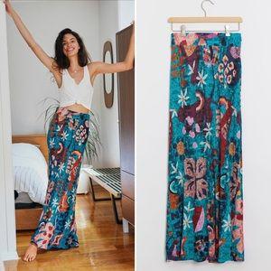 Farm Rio Gabriela Knit Maxi Skirt NWT